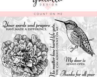 Count on Me - Digital Stamp Set