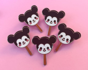 Mouse Cream Bar Enamel Pin