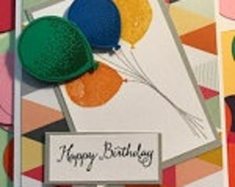 Snazzy Birthday Greeting Card With Birthday Confetti