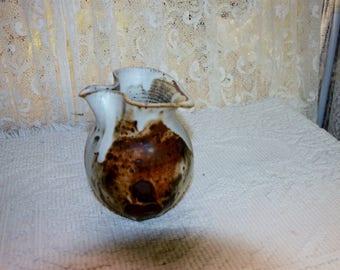 Handmade Stoneware Pitcher