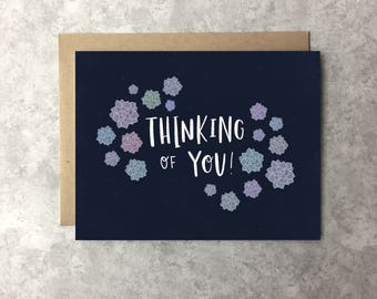 Thinking of You Card - Succulents