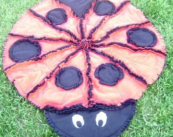 Ladybug Rag Quilt