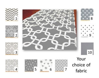 Grey Table Runner, Grey Table Square, Grey Placemats, Grey Napkins, Wedding Table Runner, Grey Tablecloth, Grey Table Linens, Reception