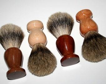 Silvertip shave brush