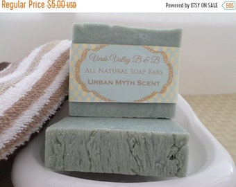Urban Myth Scent Soap, Urban Myth Scent Bar Soap, Urban Myth Scent Soap Bar, Mens Soap, Handmade Soap, Natural Soap, Vegan Soap