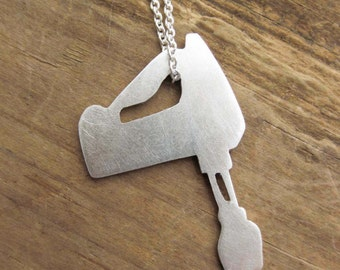 HANDMIXER sterling silver necklace