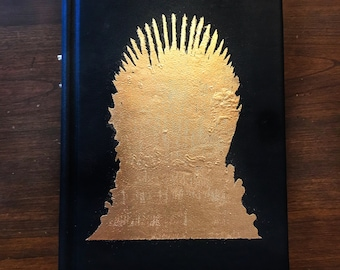 A Game of Thrones Leather Book