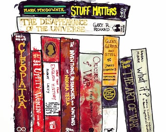 Book Spines - History and the like