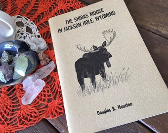 Shiras moose field guide book midcentury wilderness