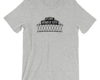 Flint Michigan Vehicle City T-Shirt