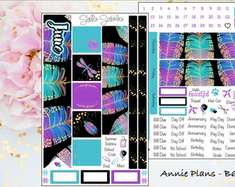 June Montly Kit - Annie Plans - B6 TN