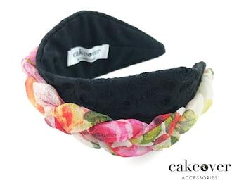 Headband-San Gallo et des fleurs