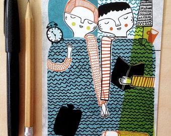 Sleep Tight- Postcard