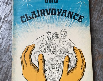 1974 Crystal Gazing and Clairvoyance Book by John Melville