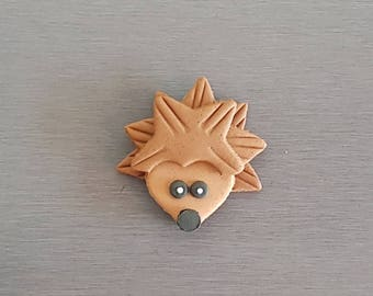 6 x Porcupine Toppers, Woodlands cupcakes toppers, fondant hedgehog toppers, edible fondant woodlands cake decorations, woodlands party