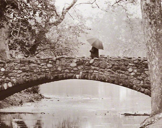 Featured listing image: Stone Bridge in Sepia, Snyder Park, Springfield Ohio