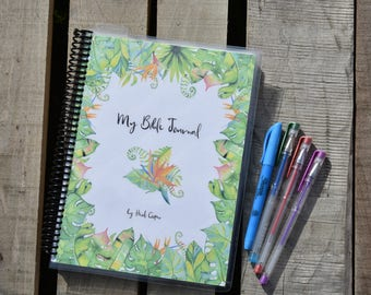 My Bible Journal, guided Bible study notebook