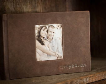 Guestbook or Engagement photo album