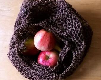 Crochet Pattern for Market String Bag PDF Instant Download