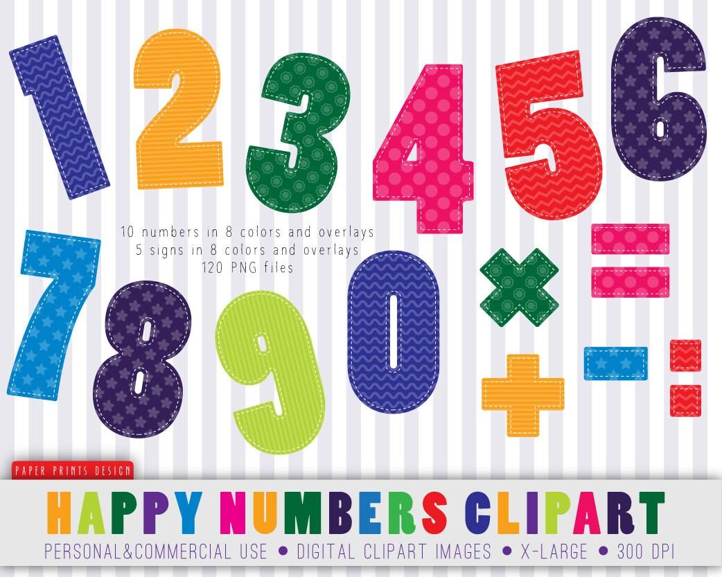 120 happy numbers clipart numbers clipart children clipart rh etsy com Elementary Teacher Clip Art Owl Teacher Clip Art