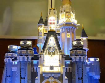 Light up kits for 71040 - Disney Castle - (Model not included)
