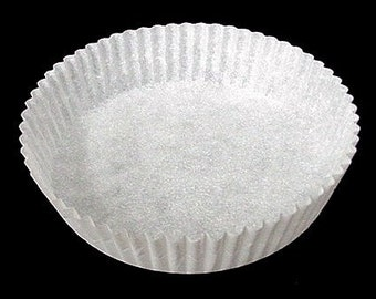 Extra Large White Candy Apple Paper Cup Cups 60 Pack