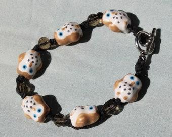 Brown Owls bracelet