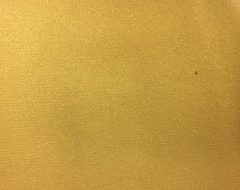 Gold Shiny Patent Glossy Faux Leather Heavy Duty Upholstery Vinyl Fabric - BTY