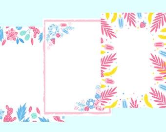 letter paper set - weheartconfetti