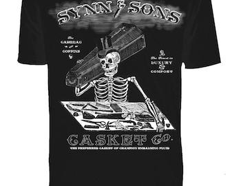 Mens Synn & Sons Black Tee