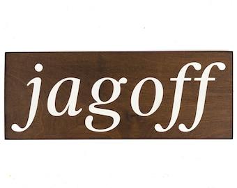 jagoff wood sign, yinz, pittsburgh art, pittsburgh decor, pittsburgh wall decor, pittsburgh sign, pittsburgh gifts, pittsburgh pennsylvania