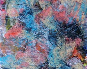 Abstraction Abstract Art abstract painting original abstract painting acrylic on cardboard 170565