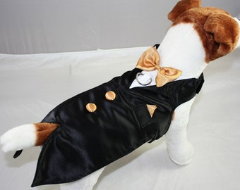 Dog Tuxedo for Formal Wear Free Shipping in the US