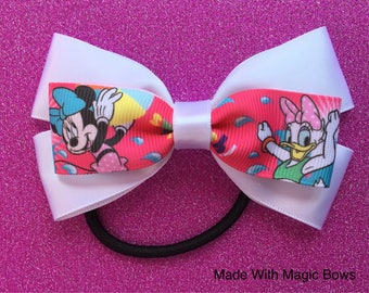 Disney Summer fun hair bow