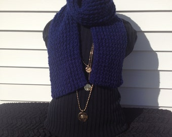 Loom Knitted Scarf
