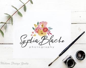 Logo Design, Floral logo, Photography Logo, Calligraphy Logo, Business Logo & Branding, Watercolor Logo, Floral Logo design (A39-LOGO)