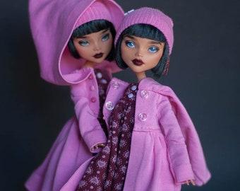 OOAK Monster High Kleo De Nil repaint 1 doll (blue eyes)