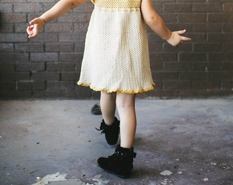 Crochet Pinafore Dress Pattern No. 14