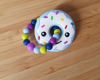 Teething donut ring