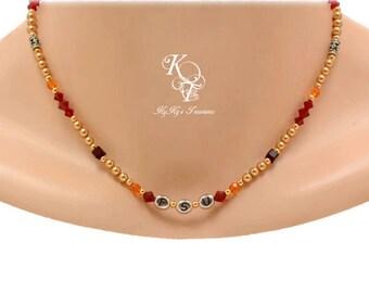 FSU Necklace, Florida State Jewelry, Florida State Necklace, FSU Jewelry, Florida State Seminoles, Collegiate Jewelry, Sports Jewelry, Gift