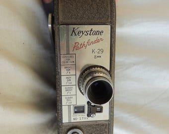 Vintage Keystone Pathfinder K-29 8mm Movie camera