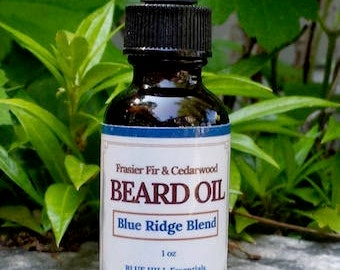 Blue Ridge Blend Beard Oil/Father's Day Gift/Gift for Him/Beard Products/Male Grooming/