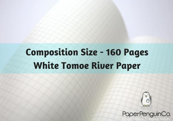 Tomoe River Paper 160 Pages White Tomoe River Paper Travelers Notebook Black Brown Composition Size Only Midori Insert