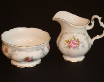 Royal Albert TRANQUILLITY Cream and Open Sugar Bowl