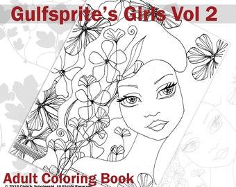 Gulfsprite's Girls Coloring Book Vol 2