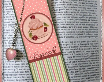 "Laminated bookmarks ""Greed"""