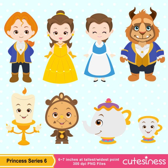 Beauty Beast Clipart
