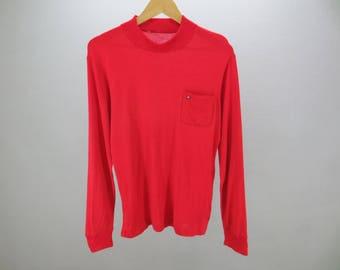 Arnold Palmer Sweater Vintage Arnold Palmer Soft Light Turtleneck Men's Pullover