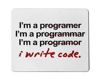 Programmer Funny Mouse Pad