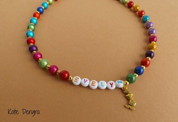 Mermaid Name Necklace